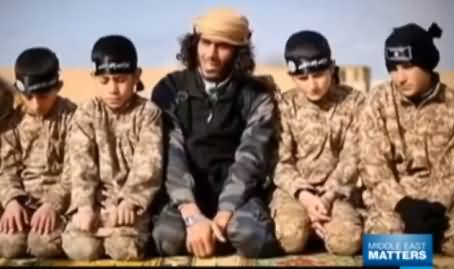 Watch How ISIS Using Children For Militancy and Giving Them Special Training