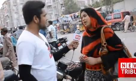 Watch How MQM Interviewing Paid People in Karachi To Defame Imran Khan
