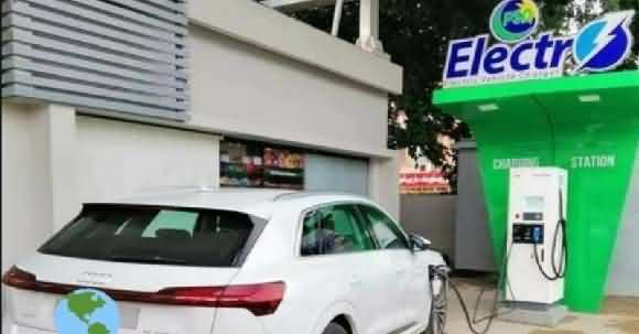 Watch How Pakistan's First Electric Car Charging Station Works?