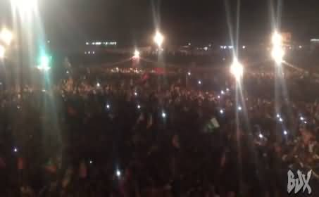 Watch How People Chanting GO NAWAZ GO in PTI Jalsa Islamabad