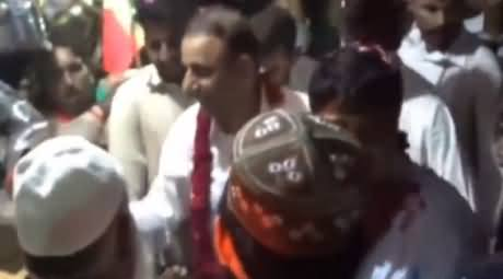 Watch How People Welcomed Aleem Khan When He Came to NA-122