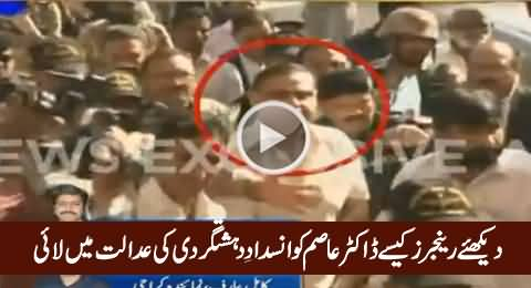 Watch How Rangers Brought Dr. Asim Today In Anti Terrorism Court