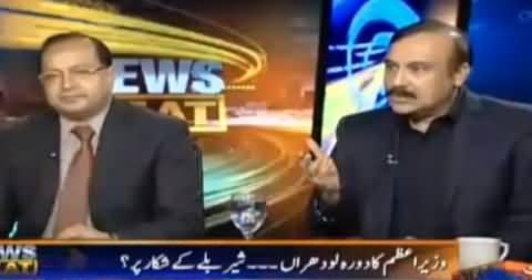 Watch How Tariq Fazal Chaudhry Defending Nawaz Sharif's Lodhran Visit