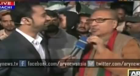 Watch How Waseem Badami Defending MQM While Taking with Arif Alvi