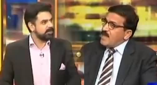 Watch How Wasey Chaudhry Shuts The Mouth of PMLN Leader on His Idiotic Logic