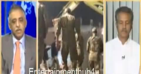 Watch How Zubair Umar Defending PMLN Govt on Lahore Factory Collapse