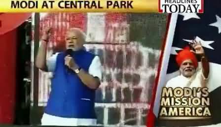Watch Narendra Modi Speech to Indian Community in New York
