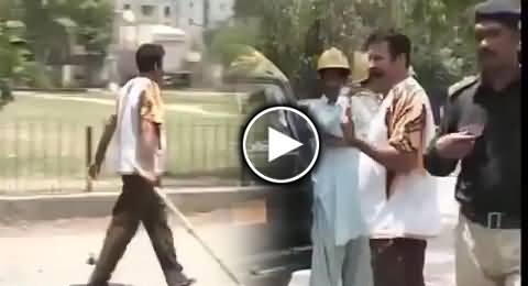 Watch New Video of Gullu Butt Working with the Co-ordination of Punjab Police