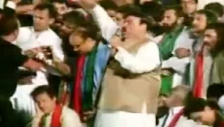 Watch Sheikh Rasheed Leaked Video From Multan Jalsa That Shows He Is Also Responsible For Deaths