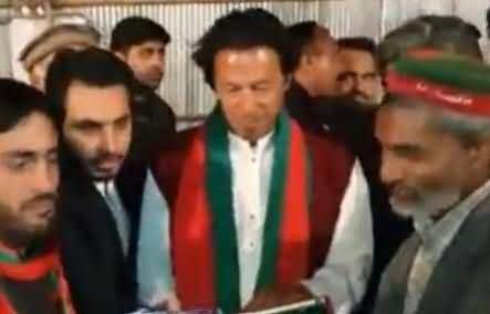 Watch Special Video on Imran Khan's Activities Before Climbing the Container