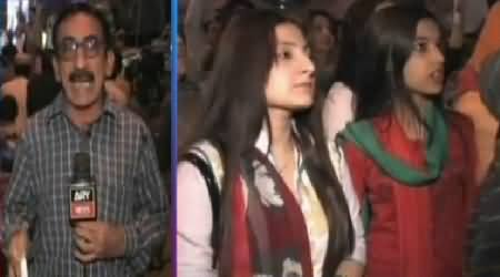 Watch Warm Up Rallies by PTI Supporters in Different Areas of Karachi