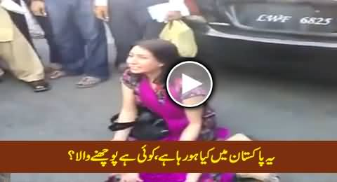 Watch What Daewoo Owner Did To This Lady, Who Will Give Her Justice