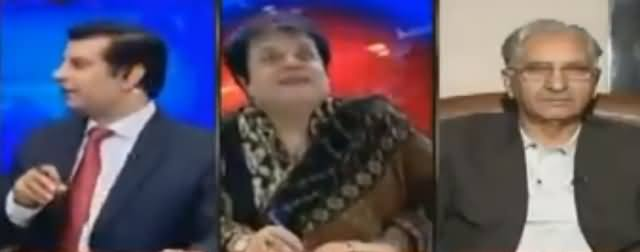 Watch What Happened During Live Show That Arshad Sharif Took The Break