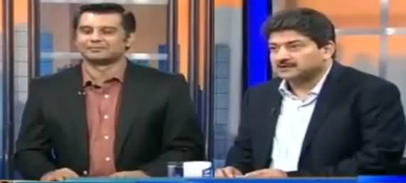Watch What Message Shahbaz Sharif Sent To Hamid Mir During Live Show