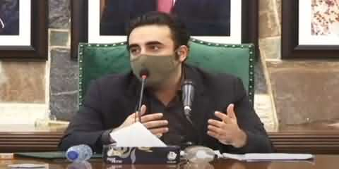 We Hope Federal Govt Will Help Us In Flood Situation - Bilawal Bhutto Press Conference