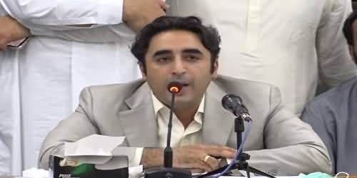 We Must Not Abandon The Parliament, Resignations Are The Last Weapons Against Govt - Bilawal Bhutto's Media Talk