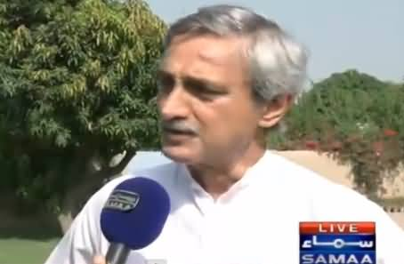 We Will Get PMLN Wicket Today - Jahangir Tareen Media Talk About NA-154