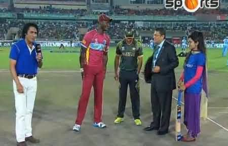 West Indies Wins the Toss Against Pakistan and Decides to Bat First
