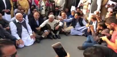 What Cameraman Said In front Of PMLN Leaders?
