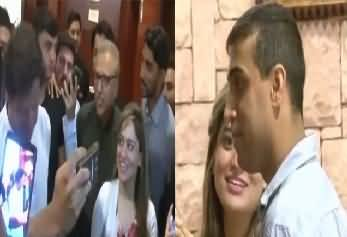 What Couple Did for Taking Selfie With Imran Khan