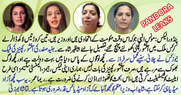 What Do the Pandora Papers Say About Pakistan's Rich And Powerful - Aurat Card Vlog
