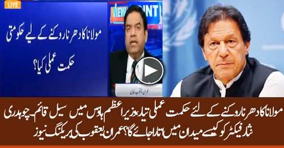What Is Govt Plan To Tackle Fazal Ur Rehman Azadi March ?  Imran Yaqub Giving Breaking News