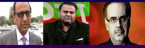 What Is The Issue Between Dr. Shahid Masood And PPP's Saeed Ghani