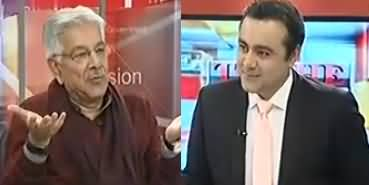 What Kind of Relations PMLN Has With Establishment? Listen Khawaja Asif's Reply