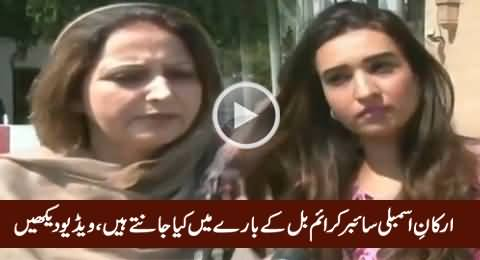 What Members Assembly Know About Cyber Crime Bill, Watch This Shameful Video