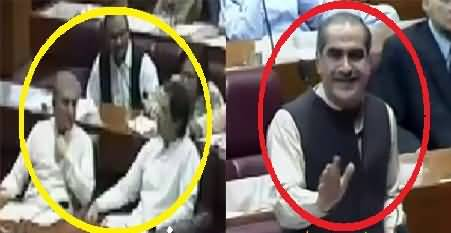 What Saad Rafiq Said To Imran Khan In Assembly Today