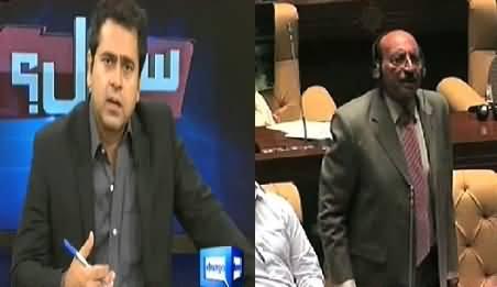 White Lies of CM Sindh Qaim Ali Shah Exposed by Anchor Imran Khan About Deaths in Thar