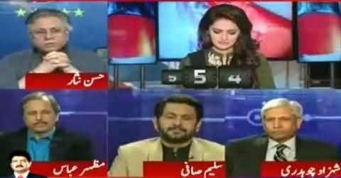 Who Will Win From NA-154, Jahangir Tareen Or Siddiqui Baloch - Listen Hassan Nisar's Reply