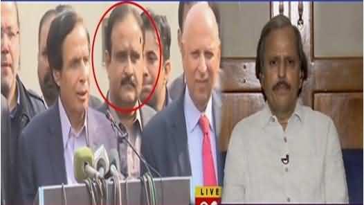 Why Did CM Punjab Stand Behind Pervaiz Elahi ? Mazhar Abbas Interesting Analysis