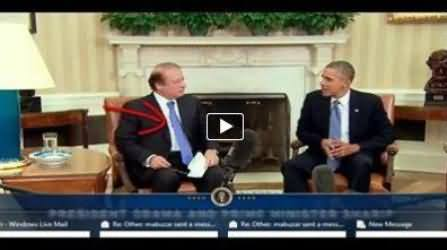 Why Nawaz Sharif Wearing the Same Neck Tie and Dress As Obama Was Wearing