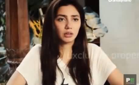 Will Mahira Khan Do A Bold Scene In Movie - Listen Mahira Khan's Reply