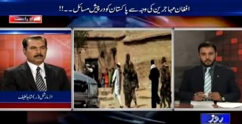 World In Focus 28th February 2015 Afghan Muhajirin Ki Waja Se Masail