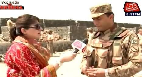 Yahan Garmi Bohat Ziada Hai - Watch The Response of Brave Pakistani Soldier