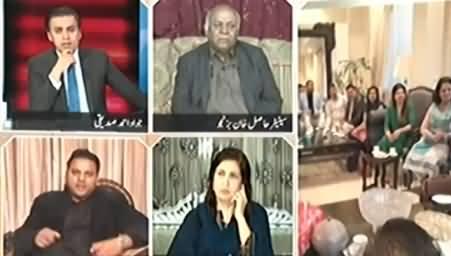 Yeh Nawaz Sharif Ke Khilaf Aik Lafz Nahi Bolte - Fawad Chaudhry Takes Class of Hasil Bizenjo