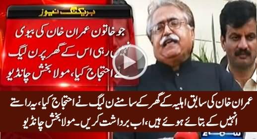 Yeh Raste PMLN Ne Hi Bataye Hain, Ab Bardasht Karein - Maula Bux Chandio on PTI's Raiwind March
