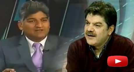 You Are A Tharki Journalist, Matiullah Jan and Mubashir Luqman Live Fight, Mubashir Ran Away