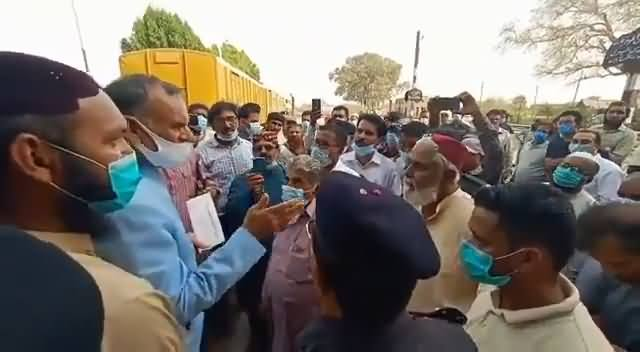 You Don't Deserve Pension, You Destroyed Railway, You All Are Thieves - Azam Swati Directly Says to Workers of Railway