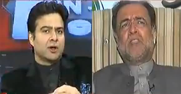 You Just Ask Questions, Don't Project PTI's Narrative - Qamar Zaman Kaira to Kamran Shahid