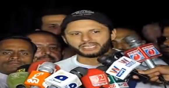 Your Activities Show That You Want To Join Politics, Watch Shahid Afridi Reaction