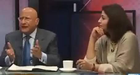 Zafar Hilali Bashing Sharif Brothers on Chaudhry Sarwar's Resignation