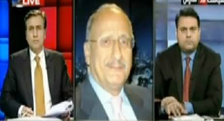 Zafar Hilali Taunts Moeed Pirzada on Asking A Stupid Question About Kashmir Dispute