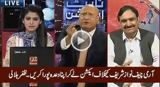 Zafar Hilaly Urges Army Chief To Take Action Against Nawaz Sharif's Corruption