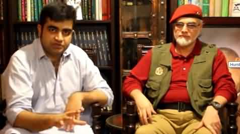 Zaid Zaman Hamid Exclusive Interview With Farhan Virk on Situation of Kashmir