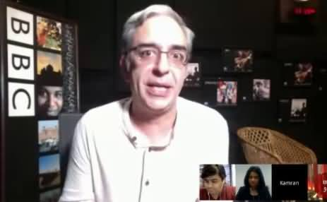 Zarrar Khuhro's Reply on Google Hangout Regarding Social Media Reaction on Qandeel Baloch's Murder