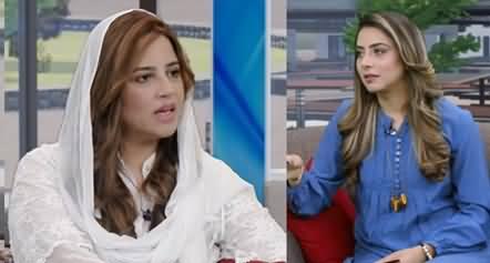 Zartaj Gul Wazir Exclusive Interview in Morning Show