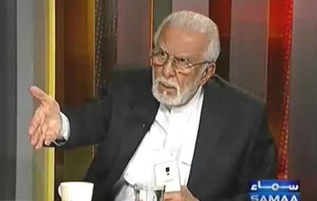 Zulfiqar Khosa Threatening Sharif Brothers in Live Show to Expose Their Corruption